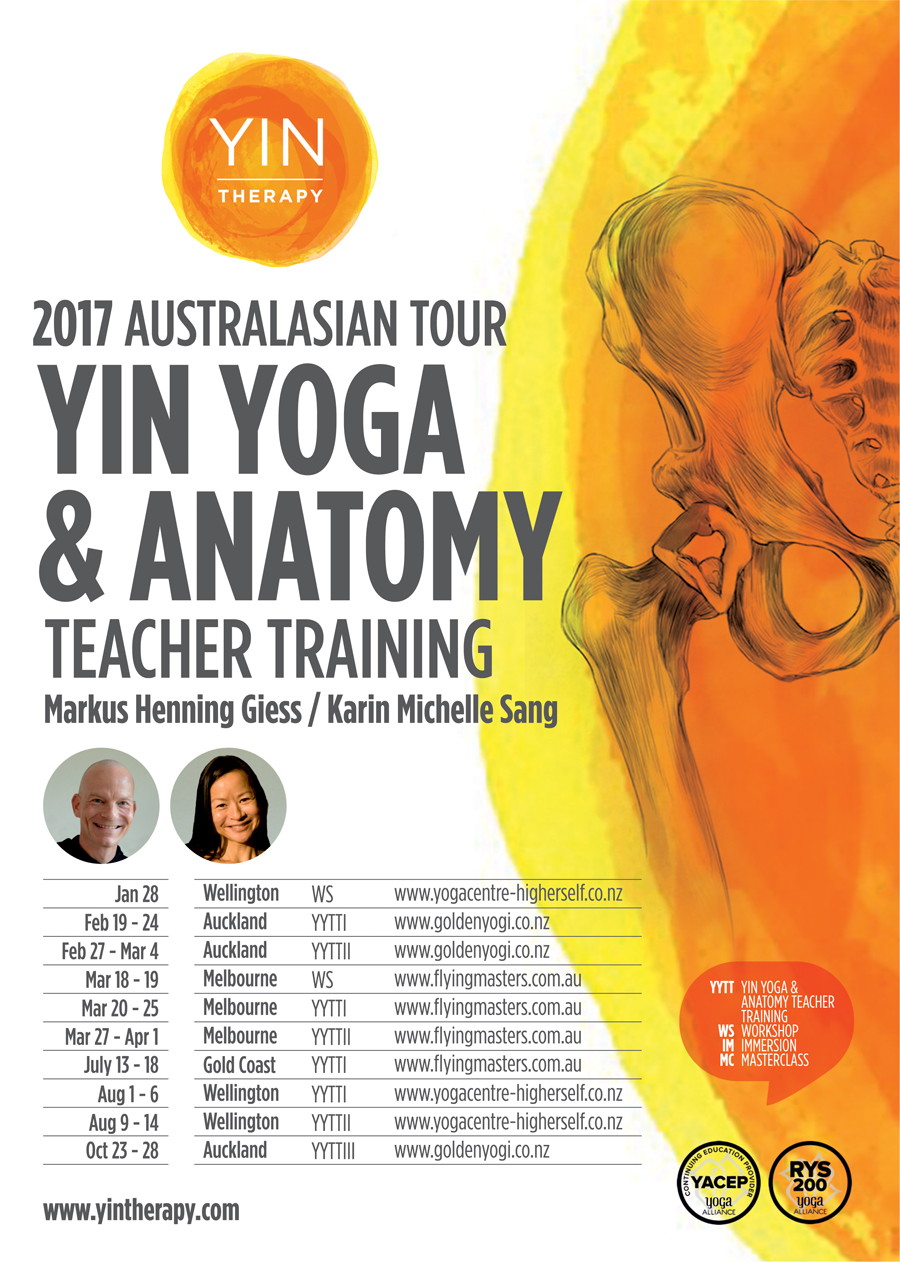 Yin Therapy 2017 Tour