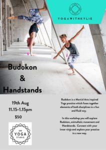 Budokon and Handstands with Kylie Harris @ Om Yoga Studio | Auckland | Auckland | New Zealand