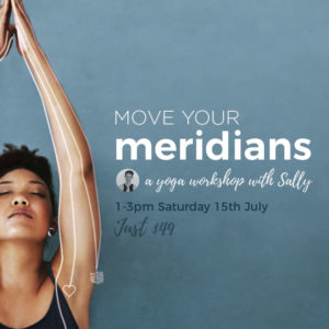 Move your Meridians with Sally Flewelling @ Om Yoga Studio | Auckland | Auckland | New Zealand
