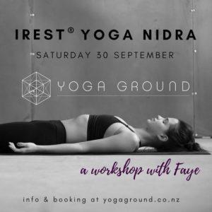 iREST® YOGA NIDRA WORKSHOP @ Yoga Ground   Auckland   Auckland   New Zealand