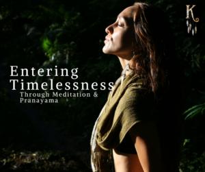 Entering Timelessness with Kowhai – Through Meditation & Pranayama @ The Yoga Corner