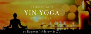Candle Light Yin Yoga Class with live Music @ Mt Eden Village Center   Auckland   Auckland   New Zealand