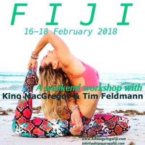 KINO MACGREGOR & TIM FELDMANN: A Weekend of Workshops in FIJI @ Tanoa International Hotel | Nadi | Fiji