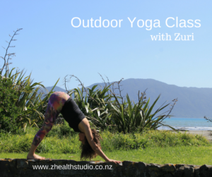 Outdoor Yoga Class @ Maclean Park, Paraparaumu Beach