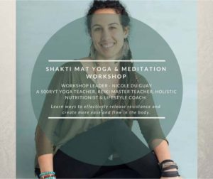 Shakti Mat Yoga & Meditation with Nicole Du Guay @ Om Yoga Studio | Auckland | Auckland | New Zealand