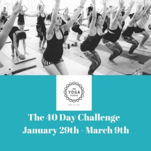 The 40 Day Challenge @ Om Yoga studio | Auckland | Auckland | New Zealand