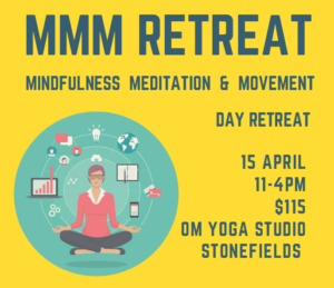 Mindfulness, Meditation and Movement Day Retreat with Helen Williams @ Om Yoga Studio | Auckland | Auckland | New Zealand
