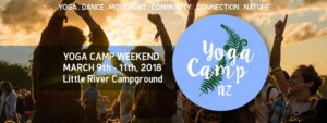 Yoga Camp NZ 2018- Canterbury @ Manaia Native Habitat, Little River Campground, Canterbury | Little River | Canterbury | New Zealand