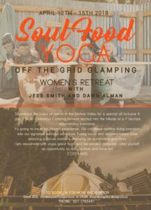 Soul Food Yoga - Off the Grid Glamping Women's Yoga Retreat @ Waitiki Valley  | Otiake | Canterbury | New Zealand